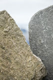 Stone slabs on the Cliffs of Moher Stock Photo