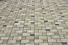 Stone slabs, walkways Stock Photography