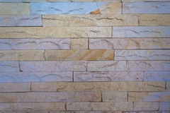 Stone Slate Wall  Royalty Free Stock Photos