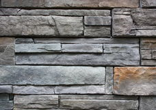 Stone slate wall background Stock Photo