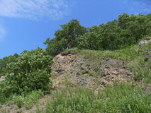 Stone slope Stock Images