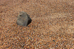 Stone. Small pebbles on the beach Stock Images