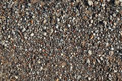 Stone and soil on dry ground Stock Images