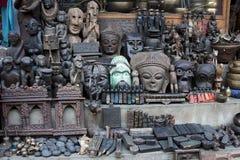 Stone souvenir. Nepalese stone art Souvenir, Kathmandu, Nepal, Asia Royalty Free Stock Image
