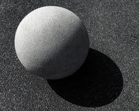 A stone sphere Royalty Free Stock Photos