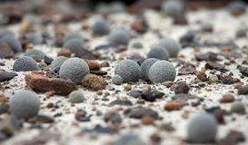 Stone spheres from Arctic Stock Photography