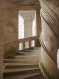 Stone Spiral Staircase Royalty Free Stock Photos