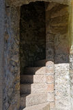 Stone spiral staircase Stock Image