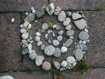 Stone spiral Royalty Free Stock Photos