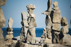 Stone stack Royalty Free Stock Image