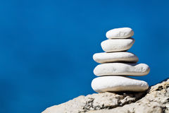 Stone stack balance Royalty Free Stock Photo