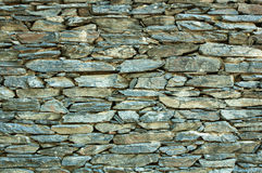 Stone stack wall Stock Images