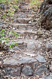 Stone of Stair Royalty Free Stock Photography
