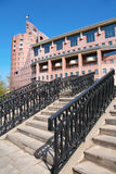 Stone stair in city Royalty Free Stock Photos