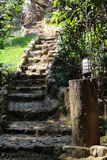 Stone stair Royalty Free Stock Photos