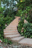 Stone stair Royalty Free Stock Image