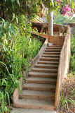 Stone stair Royalty Free Stock Photo