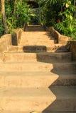 Stone stair Stock Image