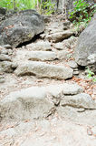 Stone stair way Royalty Free Stock Photo