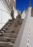 Stone Staircase. Photo of stone staircase on the exterior of a building Stock Images