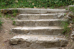Stone staircase Stock Image