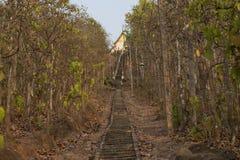 Stone staircase ascending. Pai, Thailand Stock Photos