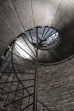 Stone staircase circle ellipse. Dome, nobody perspective royalty free stock images