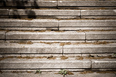 A stone staircase in city Stock Photography