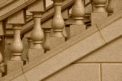 Stone staircase design Stock Images