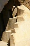 Stone staircase,  Inca ruins Stock Photography