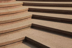 Stone staircase in park Royalty Free Stock Photos