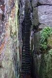 A stone staircase Royalty Free Stock Photo