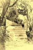Stone Stairs in Arabic Style Stock Images