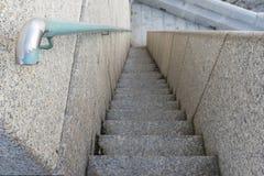 Stone stairs background. Stone stairs in PUnta Nariga Lighthouse Malpica, La Coruna - Spain Stock Photos