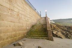 Stone stairs. Royalty Free Stock Photos