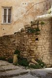 Stone stairs in Gordes. An old stone stairs in the Provence village of Gordes Stock Image