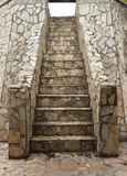 The stone stairs. Stock Image