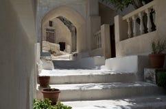 Stone stairs in Kamari. Stock Photography