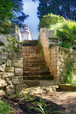 Stone Stairs Landscaping Royalty Free Stock Photography
