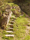 Stone stairs leading up Royalty Free Stock Image