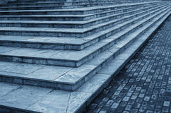 Stone stairs. In the park Royalty Free Stock Photography