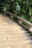 Stone stairs Royalty Free Stock Photos