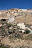 Stone stairs. Stone stairs in the rocks, in Cyprus Stock Photography