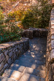 Stone stairs in Stone Mountain Park, Georgia, USA Royalty Free Stock Image