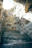 Stone stairs in the sun Royalty Free Stock Photography