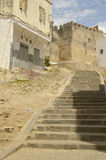 Stone stairs in Tangier Royalty Free Stock Photos