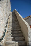 Stone Stairs to Sky Royalty Free Stock Photos