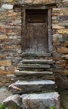 Stone stairs in Traditional House Stock Photos