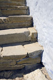 The stone stairs Stock Images