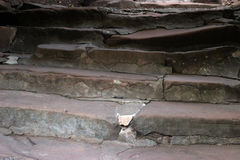Stone stairs. Royalty Free Stock Photography